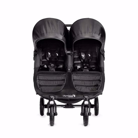 Passeggino City Mini Double GT Black/Black