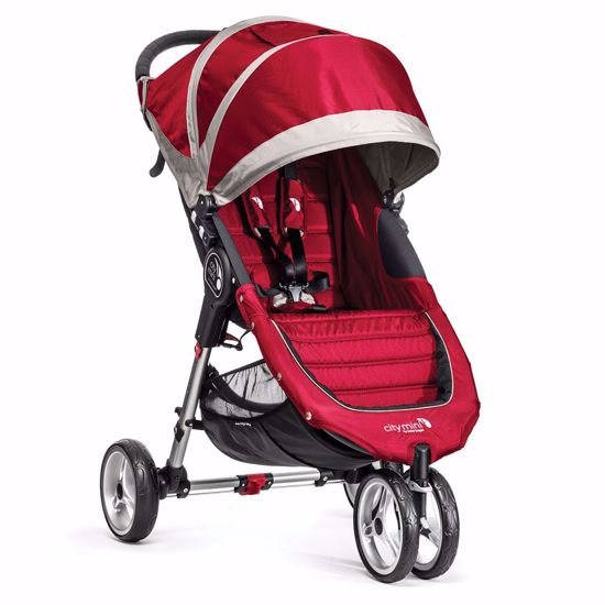Passeggino City Mini 3 Crimson/Gray