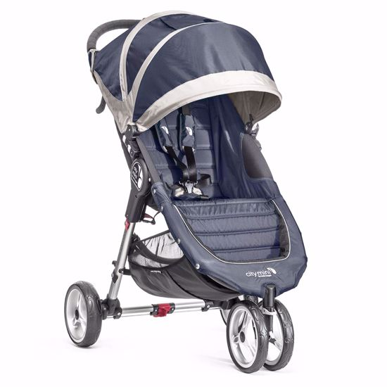Passeggino City Mini 3 Navy Blue/Gray