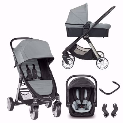 Picture of 3 in 1 Pram System City Mini2 4 wheels + City Go i-size