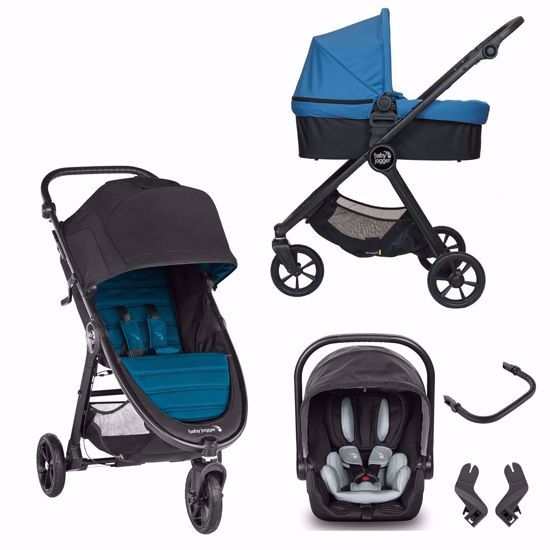 Picture of 2 in 1 Pram System Trio City Mini GT2 + City Go i-size Ember