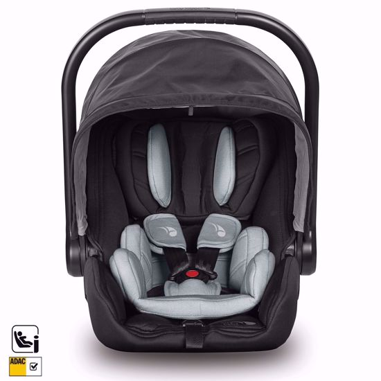 Picture of 3 in 1 Pram System City Tour LUX with accessories Granite + City Go i-size