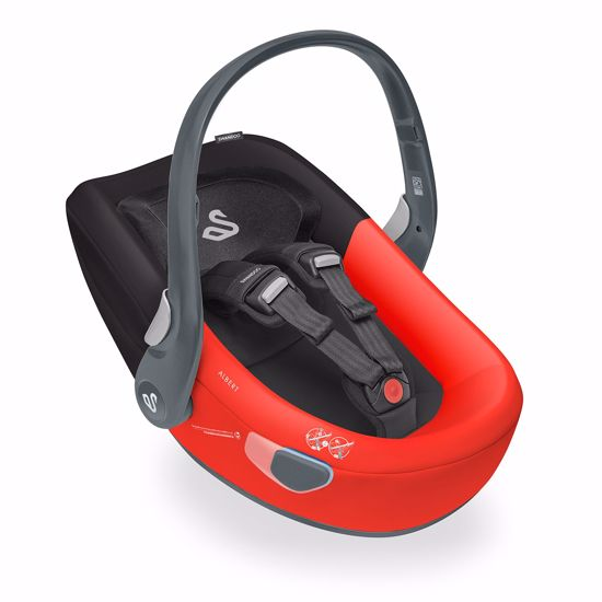 Seggiolino Auto Albert I-Size Red Black