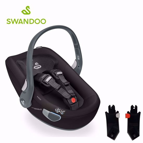 Picture of Albert I-size Car Seat Black + City Mini2 Adapters