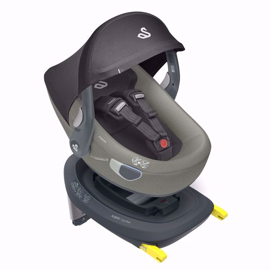 Picture of Albert I-size Car Seat  Olive Gray + Isofix Base and City Mini2 Adaptors