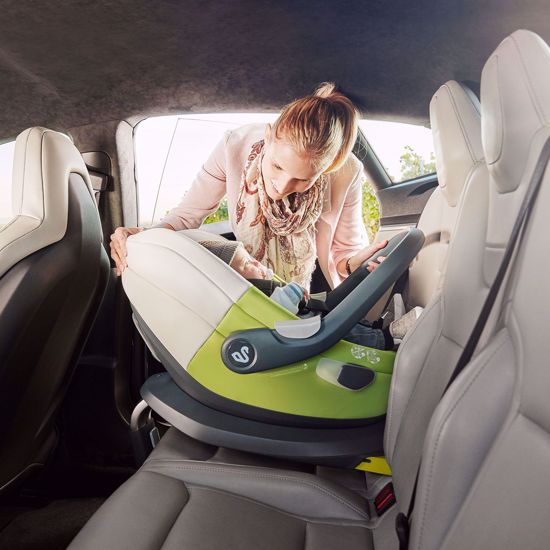 Picture of Albert I-size Car Seat Green White + Isofix Base and City Mini2 Adaptors