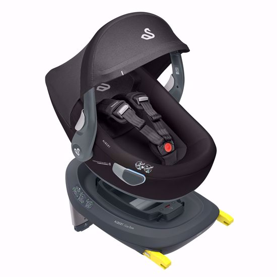 Picture of Albert I-size Car Seat Black + Isofix Base and City Mini2 Adaptors