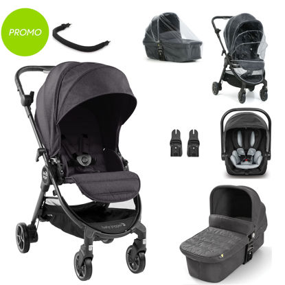 Picture of 3 in 1 Pram System City Tour LUX with accessories + City Go i-size