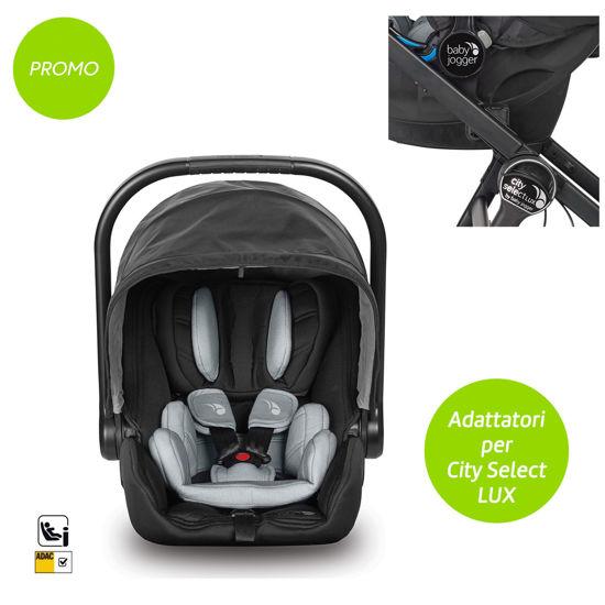 Pack Seggiolino Auto City Go I-Size + Adattatori City Select Lux/Premier