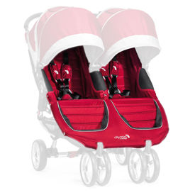 IMBOTTITURA PASSEGGINO con cinture  City Mini Double_Crimson Gray