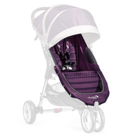 IMBOTTITURA PASSEGGINO con cinture City Mini3_PURPLE GRAY