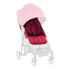 IMBOTTITURA PASSEGGINO con cinture  City Mini Zip_Red