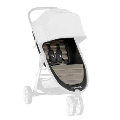 IMBOTTITURA PASSEGGINO con cinture  City Mini2_3 ruote/4ruote_Sepia
